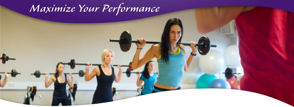 Maximize Your Performance - woman lifting weights